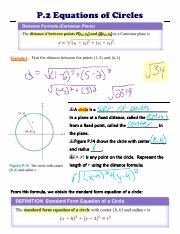 PCAL P.2c Equations of Circles Notes.pdf