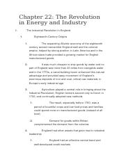 The Revolution in Energy and Industry.docx