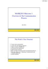 MARK2053 Week 1 (S2-2015) – 2 slides per page
