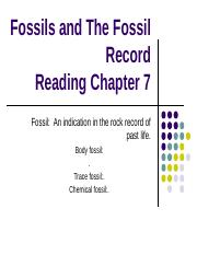 Fossils and The Fossil Record notes 2.pptx