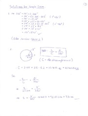 Solutions(Sample Exam1)