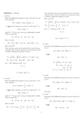 Homework 4 Solution Winter 2008 on Ordinary Differential Equations