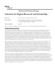 UCLA Library_Librarian forDigital Research_Scholarship_Positio
