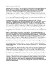 Literary analysis essay on much ado about nothing