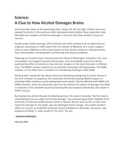 Fetal-Alcohol-Science-News-Feb-2000