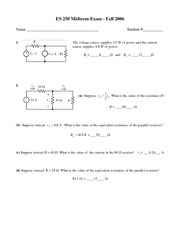 First Midterm Practice Exam w/ Solutions