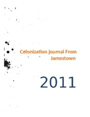 Colonization journal From Jamestown