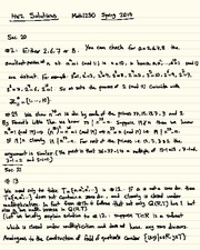 Homework B Solutions on Abstract Algebra