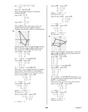 Pre-Calculus Homework Solutions 251