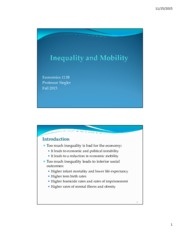 Economics+111B+Inequality+and+Mobility+F2015