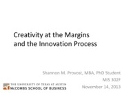 SProvost_Creativity at the margins_MIS302