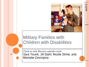Military Families with Children with Disabilities