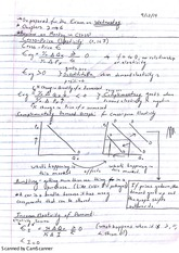 ECN 221 Test 1 Review Notes