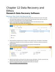 ITL8 Ch 12 Data Recovery and Ethics (1)