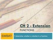 ch2 ext - functions