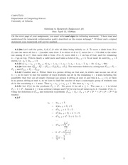 CMPUT 272 Assignment 6 Solutions