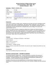 syllabus -cost accounting 3122-191-summer 2014(1)