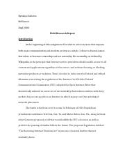 Field research report- First Draft (Revised).docx