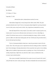 Science Essay Topics  Pages Alexandria Williams Essay Docx Science Technology Essay also Buy Essay Papers Online Alexandria Williams Essay Docx  Williams  Alexandria Williams  Thesis Statement In Essay