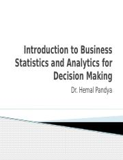 Introduction to Business Statistics and Analytics for Decision 12.pptx