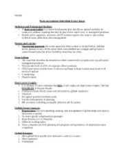 Common Individual Career Issues notes