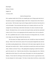 English 134 Tattoo Essay