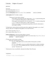 Calculus Chapter 4 Lesson 5(2)