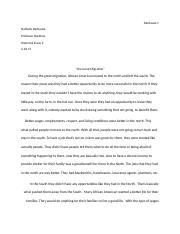 Historical Essay 2 Great Migration (1)
