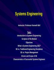 1-Intro to Systems Engineering (SE).ppt