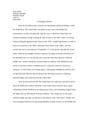 American influence essay