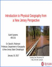 Intro to NJ physical geography