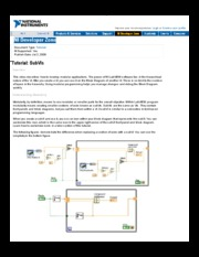 Tutorial SubVIs - Developer Zone - National Instruments