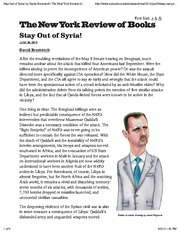 Bromwich_Stay Out of Syria!(3)