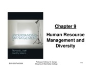 Chapter 9 Understanding Management 6e ANC Fall 2009 handout