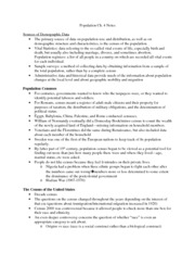 Population Ch.4 Notes
