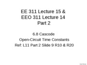L15Part2 BJT Cascode High Freq Open Circuit Time Constants_1