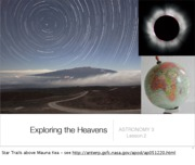 Lecture 2 - Exploring the Heavens