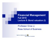 L5 - Bond valuation