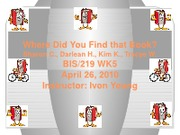 BIS219 WK5 PowerPoint Final