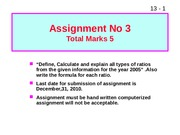 FM assignment no 3