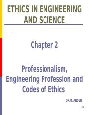 BİLGİ-ENGR 400 FALL 2015 P2 Professionalism and Code of Ethics.pptx