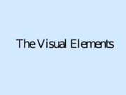 The Visual Elements (1)