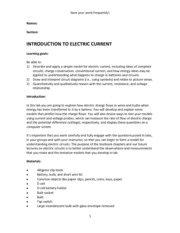 Lab 2 - Introduction Electric Current(1)