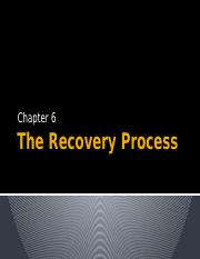 Berry Ramnath Chapt 6 The Recovery Process.pptx