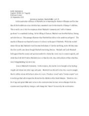 macbeth vaulting ambition essay