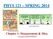 PHYS121Chapter1_Measurement_Spring2014