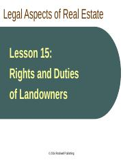 CA Law Lesson 15 PPT.ppt