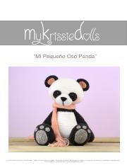 Oso panda Amigurumi, crochet paso a paso - YouTube | 233x180