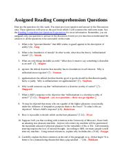 Assigned Reading Comprehension Questions, WK 1 (v1).docx