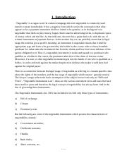 Report on negotiable instruments 2.docx